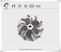 Impeller High Precision 5 Axis Machining Parts
