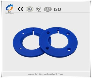 Blue Plastic Nylon PP Machining Parts